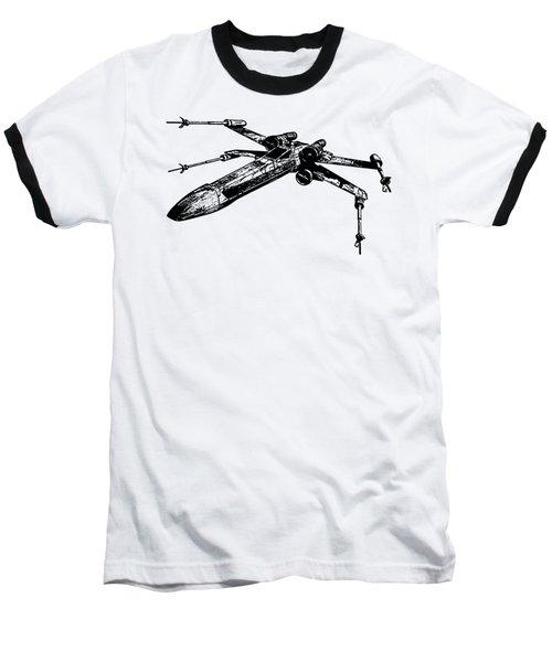 Star Wars T-65 X-wing Starfighter Tee Baseball T-Shirt