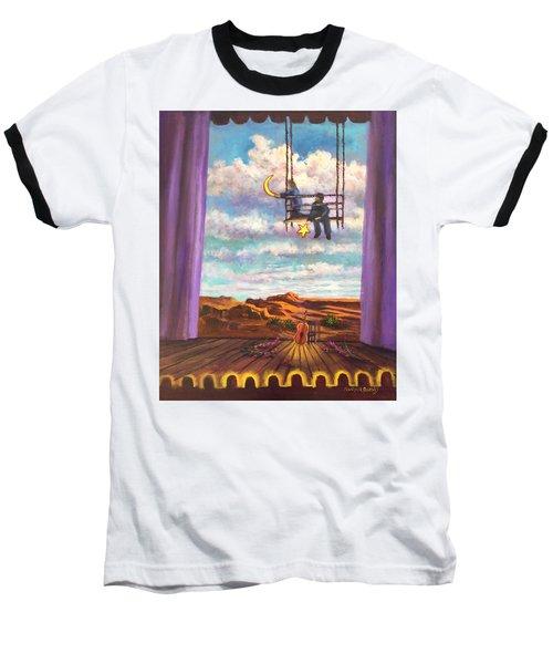 Starry Day Baseball T-Shirt