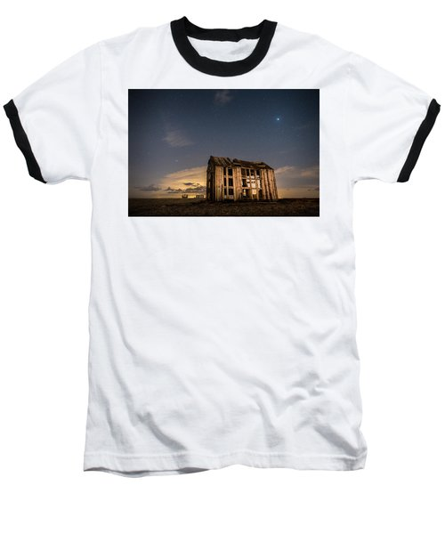 Starry Night At Dungeness Baseball T-Shirt