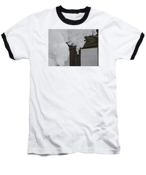 Baseball T-Shirt featuring the photograph Start Of The Avalanche by Deborah Smolinske