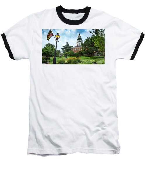 State Capitol Baseball T-Shirt