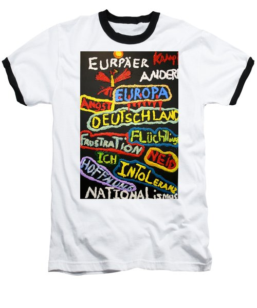 State Of Europe Baseball T-Shirt