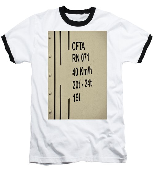 Baseball T-Shirt featuring the photograph Steam Train Series No 30 by Clare Bambers
