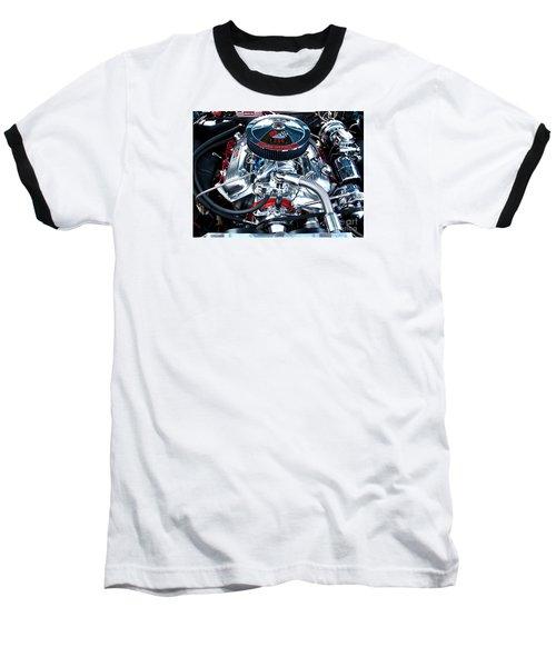 Baseball T-Shirt featuring the photograph Steel Heartbeat by Rebecca Davis