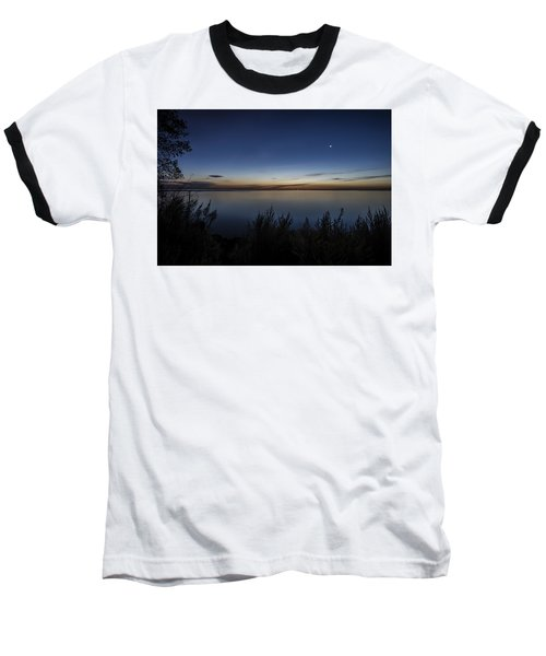 Steelworkers Park View At Dawn Baseball T-Shirt
