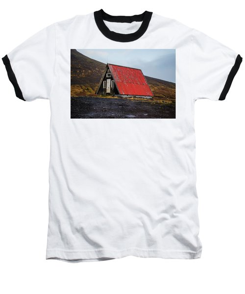 Steep Roof Barn Western Iceland Baseball T-Shirt