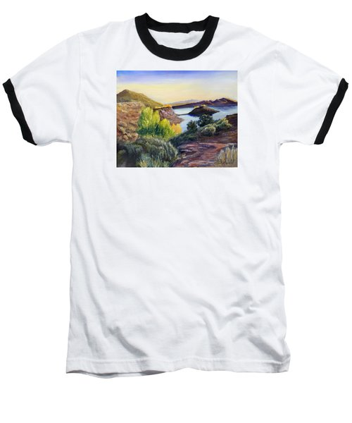 Baseball T-Shirt featuring the painting Steinaker by Sherril Porter