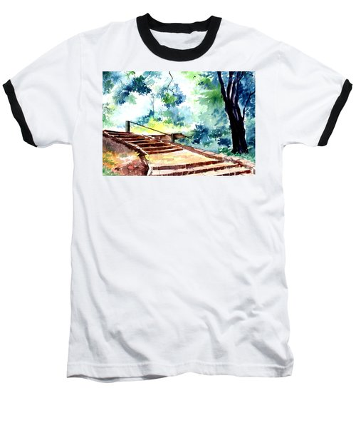 Steps To Eternity Baseball T-Shirt