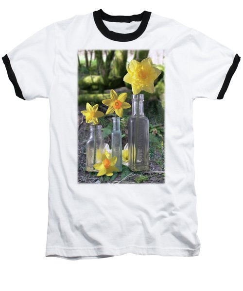 Still Life In The Woods Baseball T-Shirt