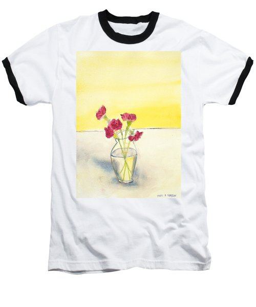 Still Life With Roses Baseball T-Shirt