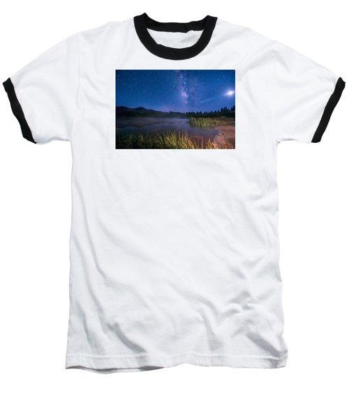 Still Night At Upper Molas Lake Baseball T-Shirt by Michael J Bauer