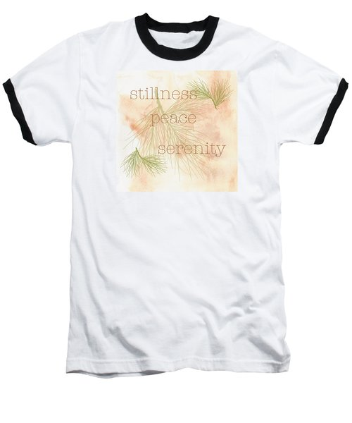 Baseball T-Shirt featuring the painting Stillness  by Kandy Hurley