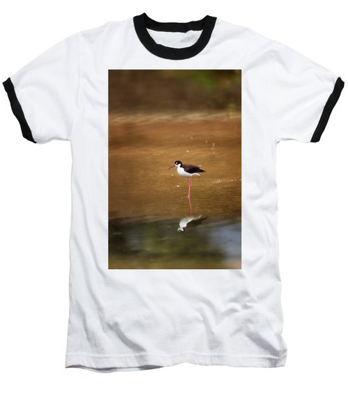 Stilt And Reflection Baseball T-Shirt