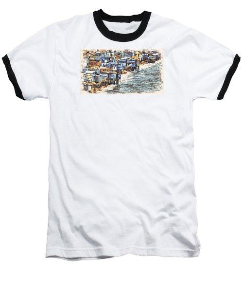 Stiltsville Baseball T-Shirt