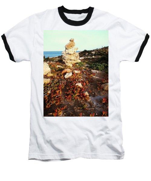 Stone Balance Baseball T-Shirt
