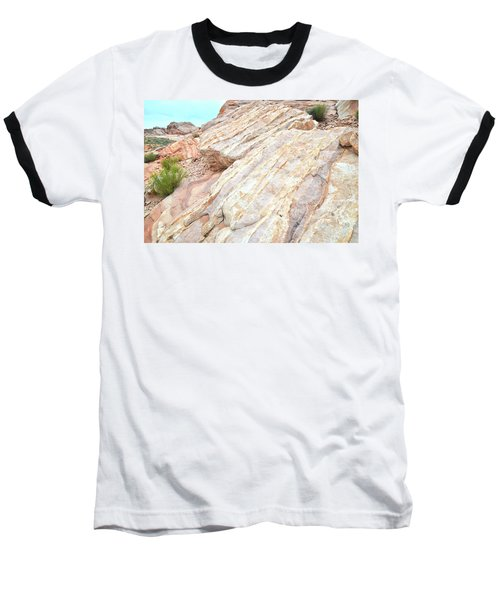 Baseball T-Shirt featuring the photograph Stone Feet In Valley Of Fire by Ray Mathis