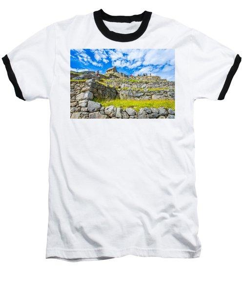 Stone Walls Baseball T-Shirt