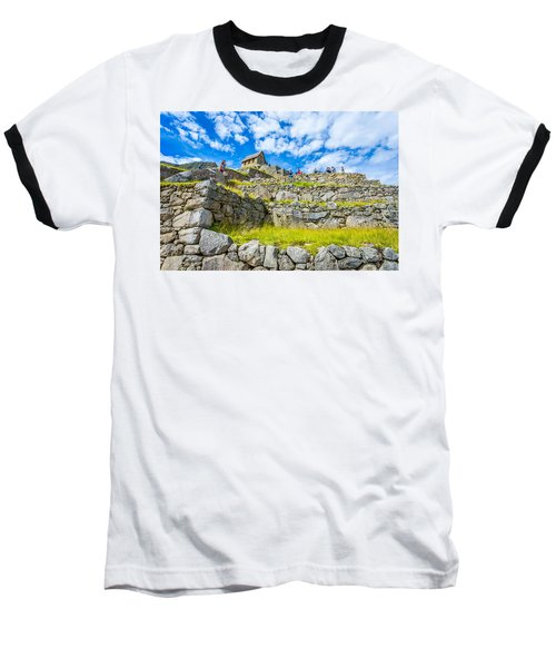 Stone Walls Baseball T-Shirt