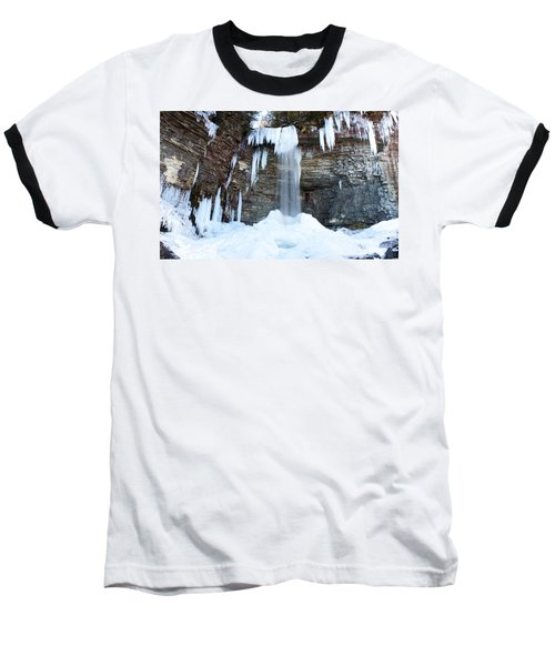 Stony Kill Falls In February #1 Baseball T-Shirt by Jeff Severson
