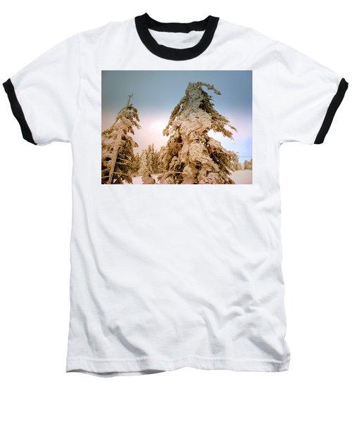 Stopped Wind Baseball T-Shirt