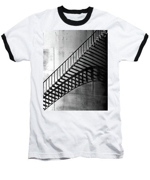Storage Stairway Baseball T-Shirt by Christopher McKenzie