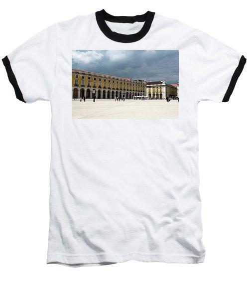 Storm Brews Over Commerce Square Baseball T-Shirt