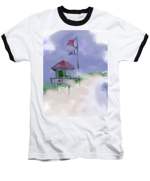 Storm Warning Baseball T-Shirt