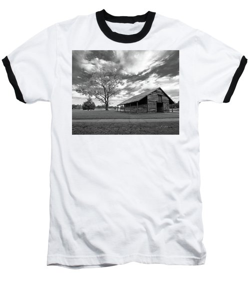 Baseball T-Shirt featuring the photograph Stormy Weather by George Randy Bass