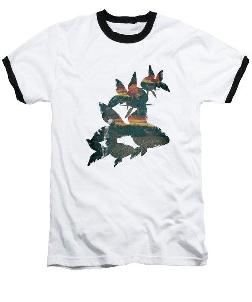 Strange Encounter Baseball T-Shirt by Katherine Smit