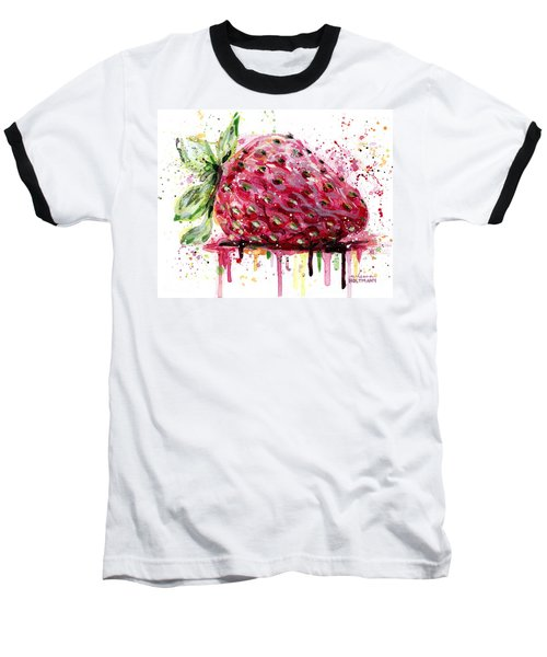 Strawberry 2 Baseball T-Shirt