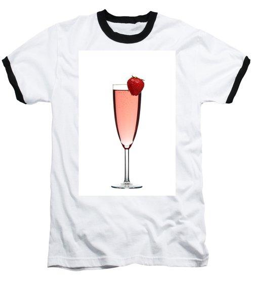 Strawberry Champagne Baseball T-Shirt