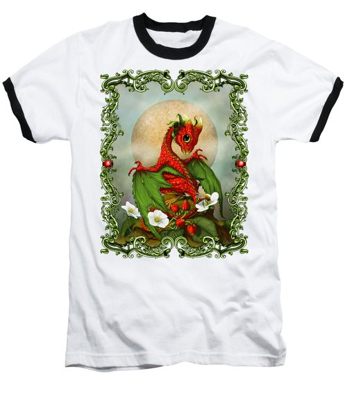 Strawberry Dragon T-shirt Baseball T-Shirt