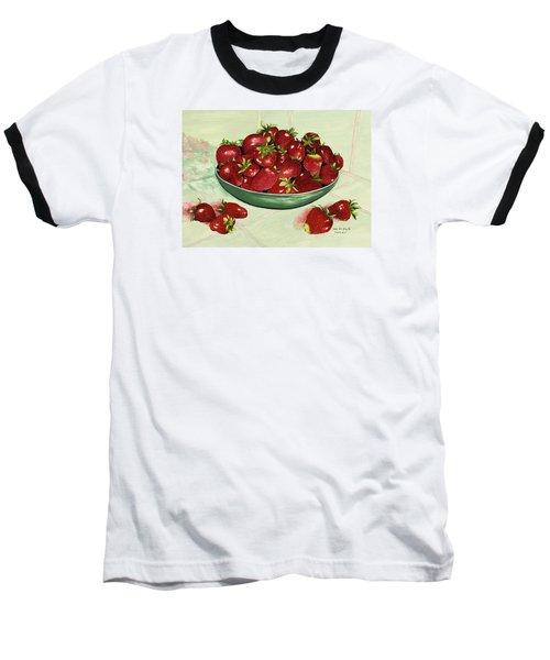 Strawberry Memories Baseball T-Shirt