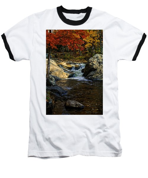 Stream In Autumn No.17 Baseball T-Shirt
