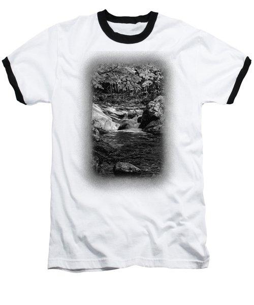 Stream In Autumn No.18 Baseball T-Shirt
