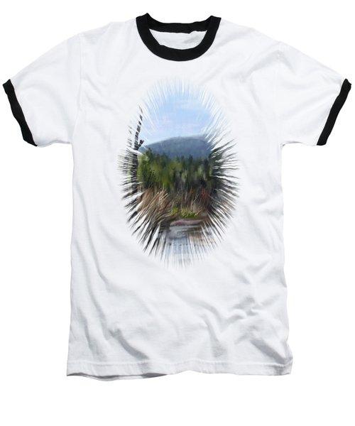 Stream Baseball T-Shirt by Ivana Westin