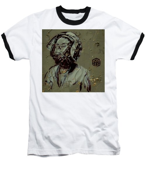 Baseball T-Shirt featuring the painting Street Art by Sheila Mcdonald