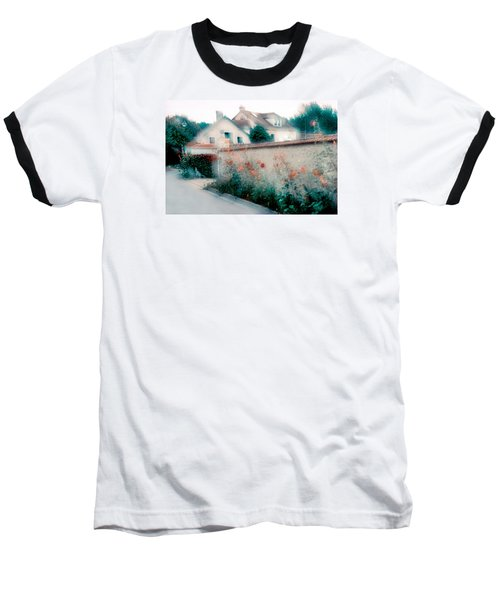 Baseball T-Shirt featuring the photograph Street In Giverny, France by Dubi Roman