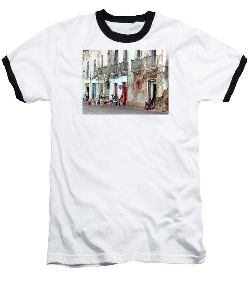 Street Scene Luanda, Angola Baseball T-Shirt