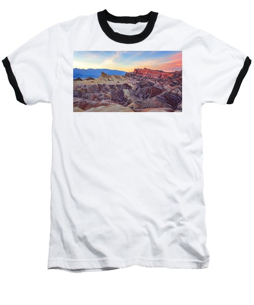 Striated Erosion Baseball T-Shirt