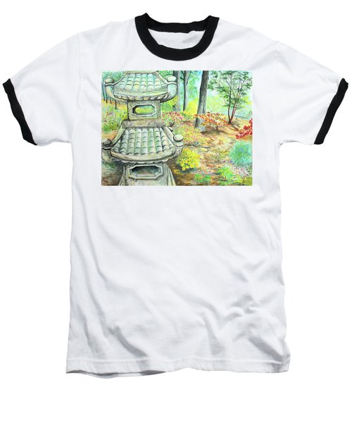 Strolling Through The Japanese Garden Baseball T-Shirt