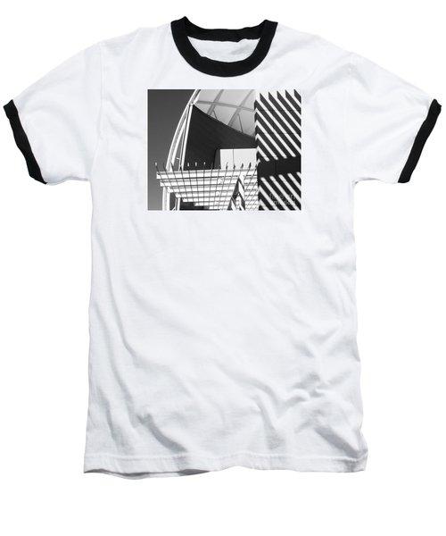 Structure Abstract 3 Baseball T-Shirt