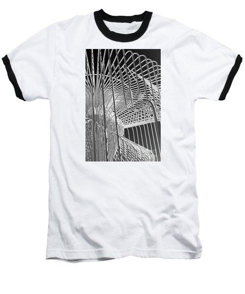 Structure Abstract 4 Baseball T-Shirt