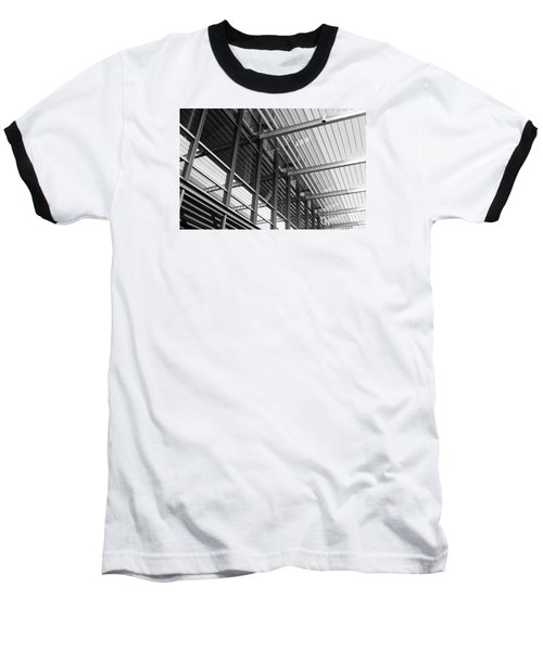 Baseball T-Shirt featuring the photograph Structure Abstract 9 by Cheryl Del Toro