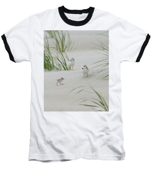 Struggle In The Blowing Sand Baseball T-Shirt