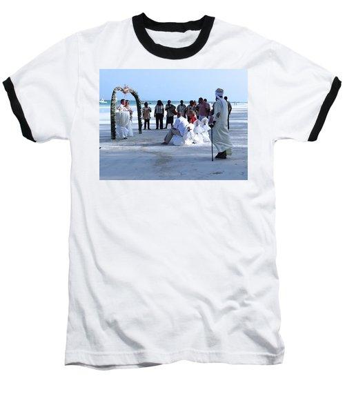 Stunning Kenya Beach Wedding Baseball T-Shirt