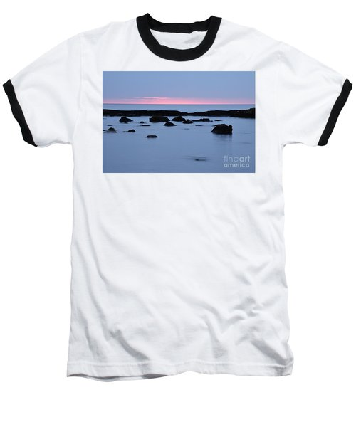 Baseball T-Shirt featuring the photograph Subtle Sunrise by Larry Ricker