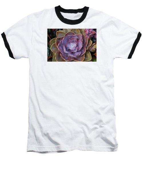 Succulent Star Baseball T-Shirt