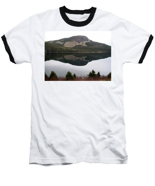 Sugarloaf Hill Reflections Baseball T-Shirt by Barbara Griffin