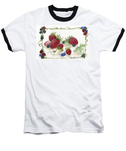 Summer Berries Baseball T-Shirt
